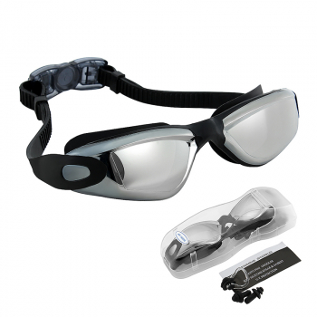 Crystal Clear Anti Fog Lens Swimming Goggles Glasses