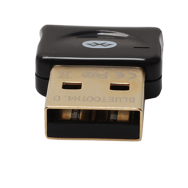 USB Wireless Bluetooth 4.0 Transmitter CSR Dongle Adapter for Laptop - Black