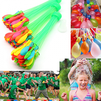 111 Fast Fill Magic Water Balloons Self Tying Bunch O Balloon Bombs Summer products Assorted Colour