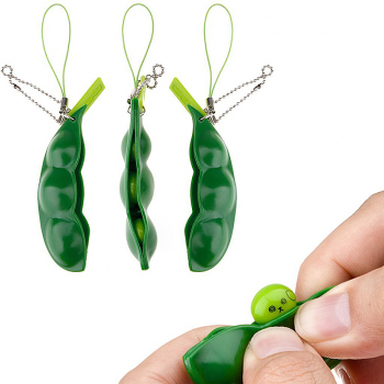 Relief Finger product Beans Squishy Pendants Anti Stress Ball Squeeze Funny Gadgets products