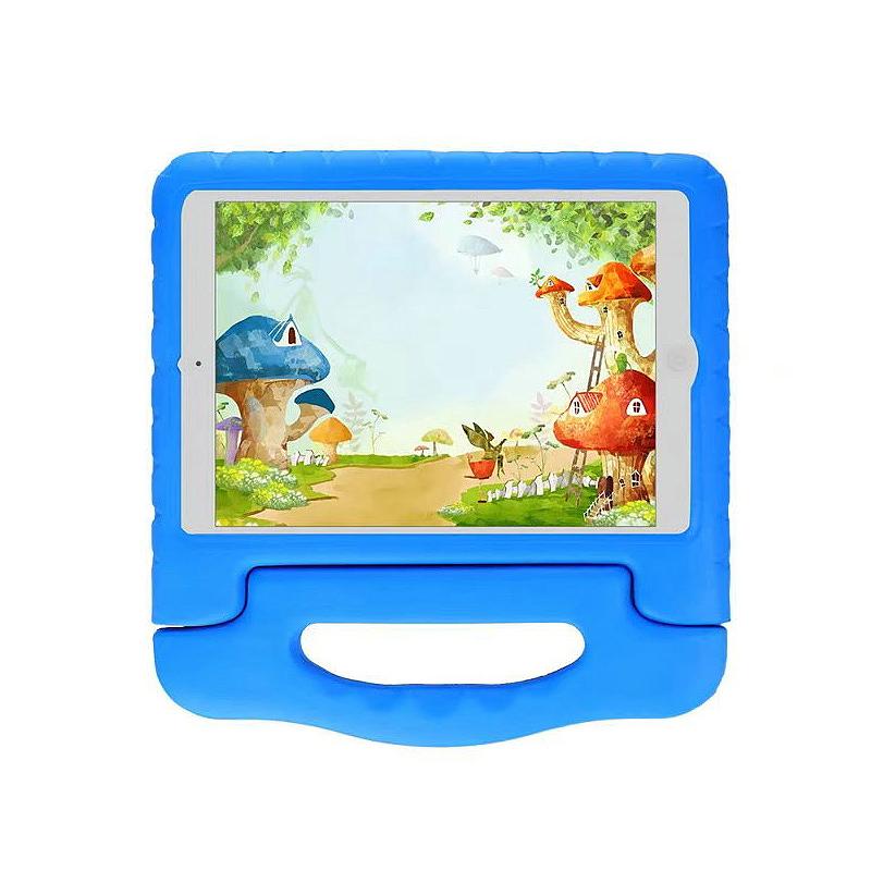 Shockproof Handled EVA Foam Stand Case for Apple Tablets iPad Mini 4 - Blue