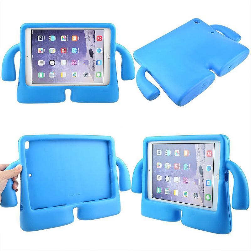 Universal Shockproof EVA Foam Stand Tablet Case for iPad Mini 1/2/3/4 - Blue