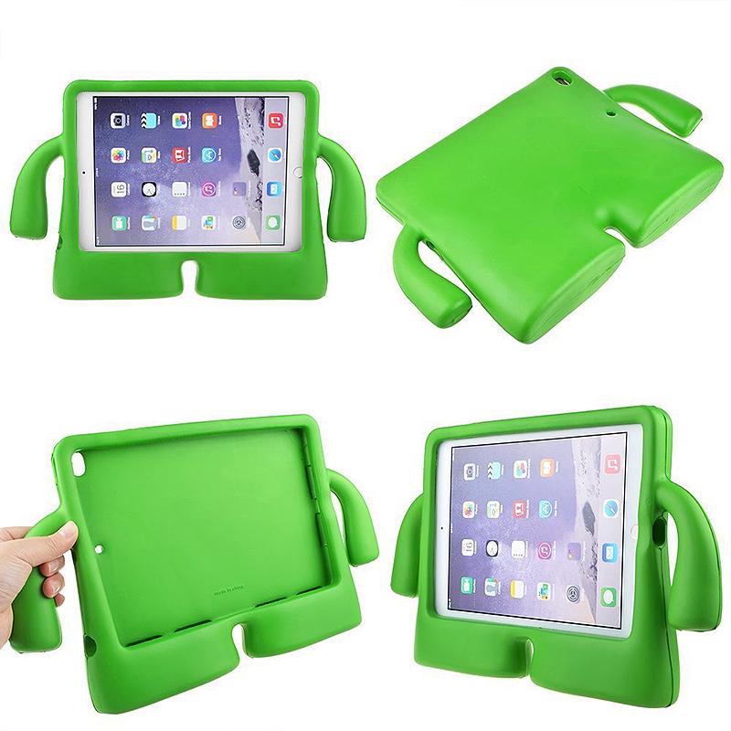 Universal Shockproof EVA Foam Stand Tablet Case for iPad Mini 1/2/3/4 - Green