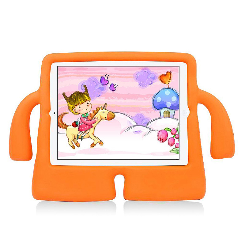 Universal Shockproof EVA Foam Stand Tablet Case for iPad Mini 1/2/3/4 - Orange