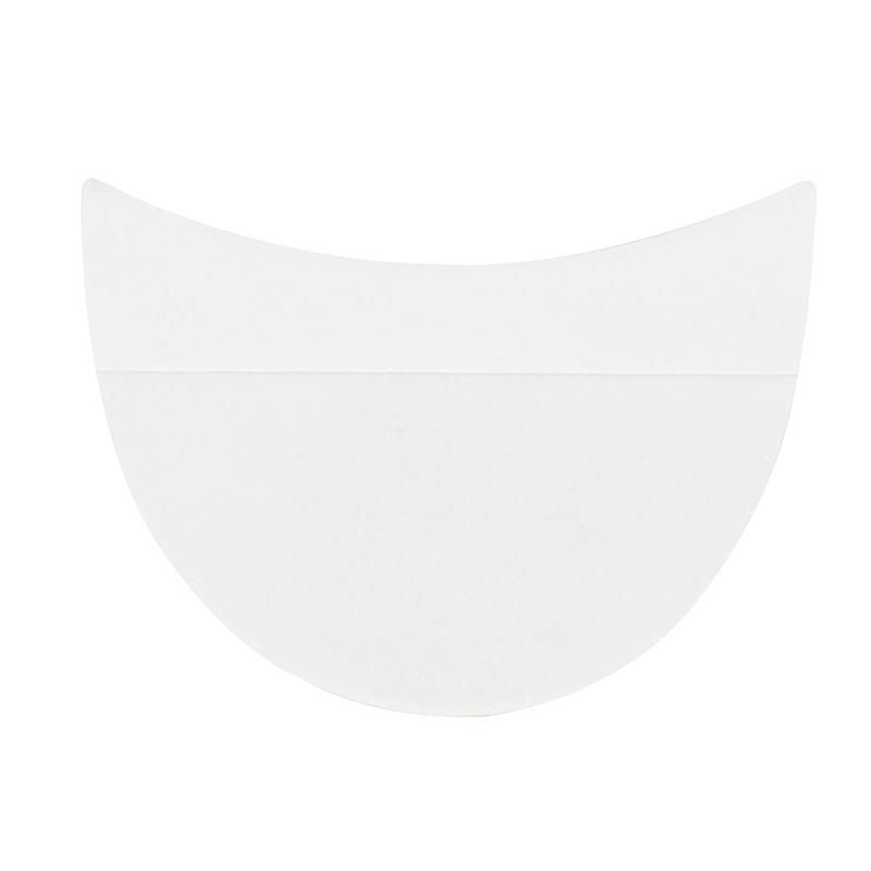10pcs Eye Shadow Shields Eye Makeup Mascara Guards Pads Eyelash Eyeline Tinting Pads Beauty Tool
