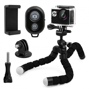 Octopus Flexible Tripod Stand Mount Holder Pack for Cellphone Camera Tablet