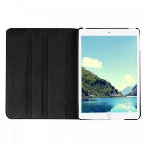 360 degree Rotating PU Leather Flip Stand Case Cover Skin for iPad Mini 1/2/3 - Black
