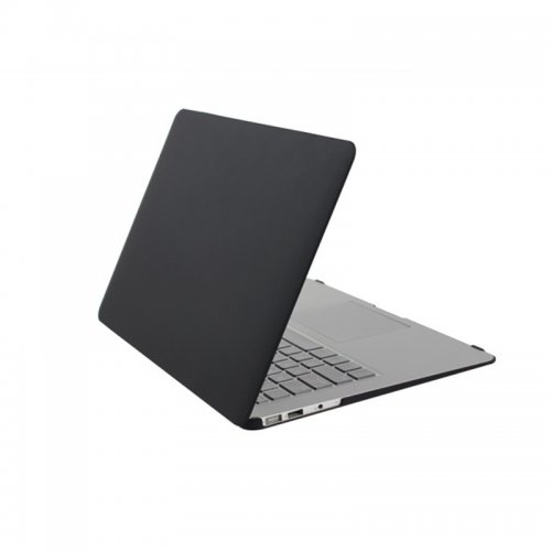 """Frost Laptop Protective Case Cover for Apple MacBook Air 13.3"""" -Black"""