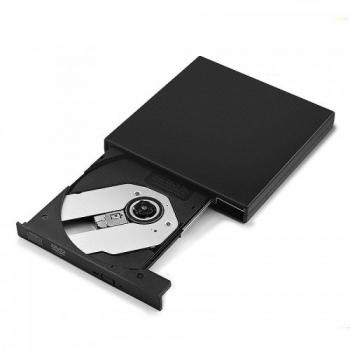 External USB 2.0 Slim CD RW DVD RW Burner Rewriter DVD Drive for Laptop PC