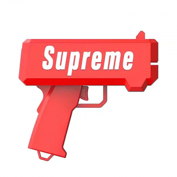 Supreme Spray Money Gun Cash Cannon Shoot Gun Funny products Gift Party Game