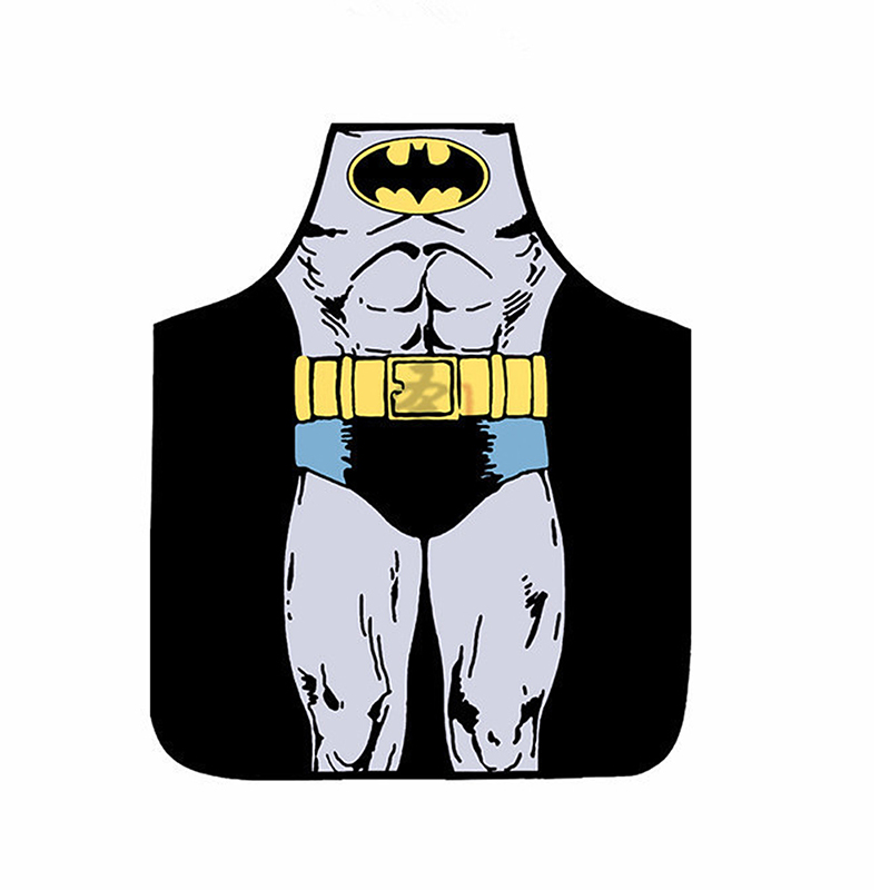 Funny Cooking Kitchen Apron Novelty Sexy Dinner Party Aprons - Batman