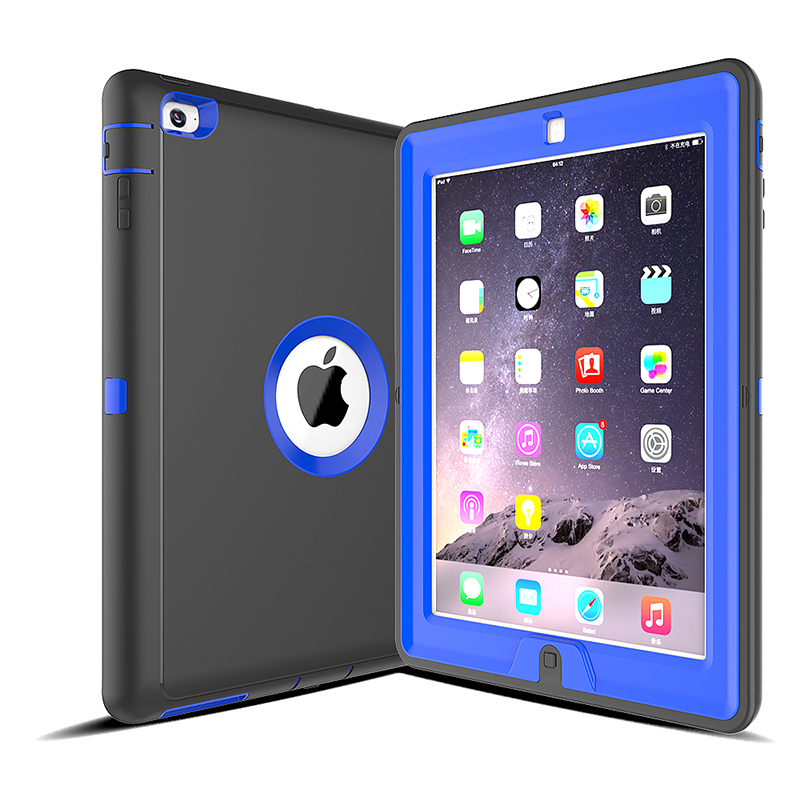 Slim Magnetic Smart Fold Flip Stand Case Cover Protector for Apple iPad 2/3/4 - Blue