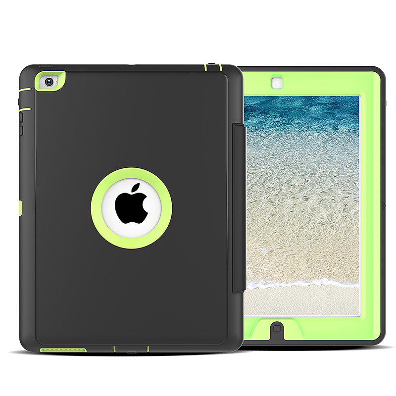 Slim Magnetic Smart Fold Flip Stand Case Cover Protector for Apple iPad 2/3/4 - Green