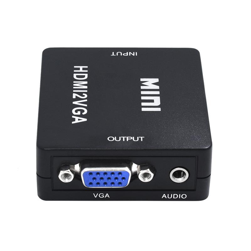 MINI HDMI to VGA Female to Female 1080P Video Converter Adapter Connector