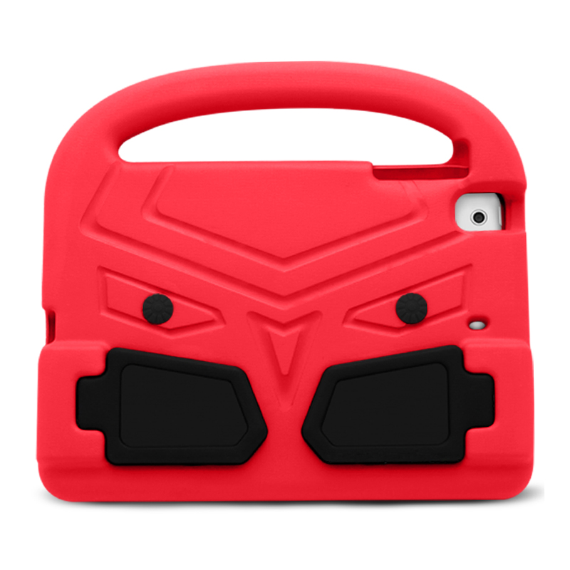 Shockproof EVA Foam Stand Case Cover for Apple iPad Mini 2/3/4 - Red