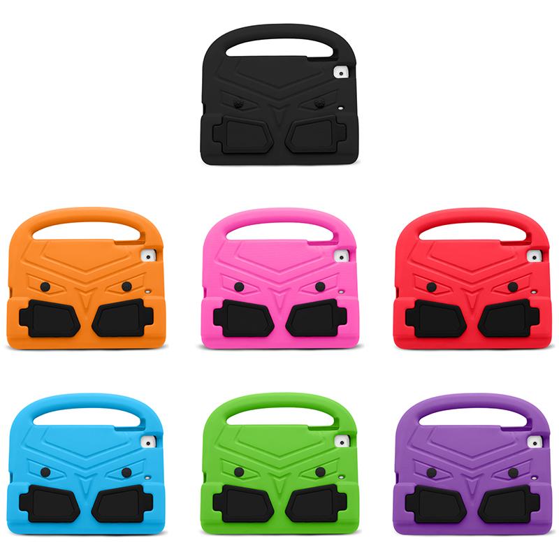 Shockproof EVA Foam Stand Case Cover for Apple iPad Mini 2/3/4 - Purple