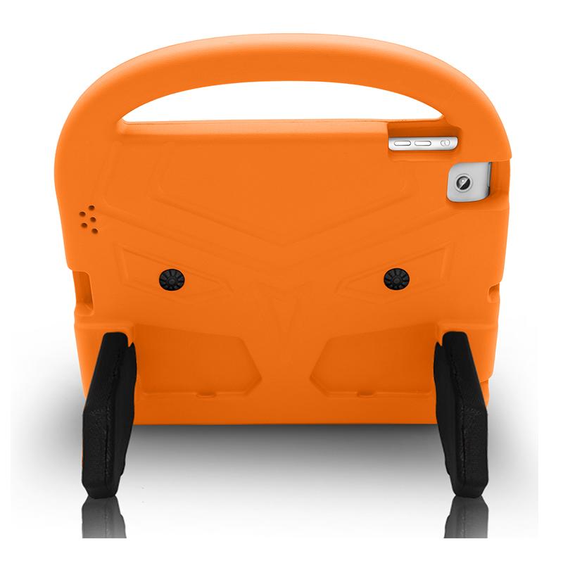 iPad 2/3/4 Shockproof EVA Foam Case Back Cover with Kickstand - Orange