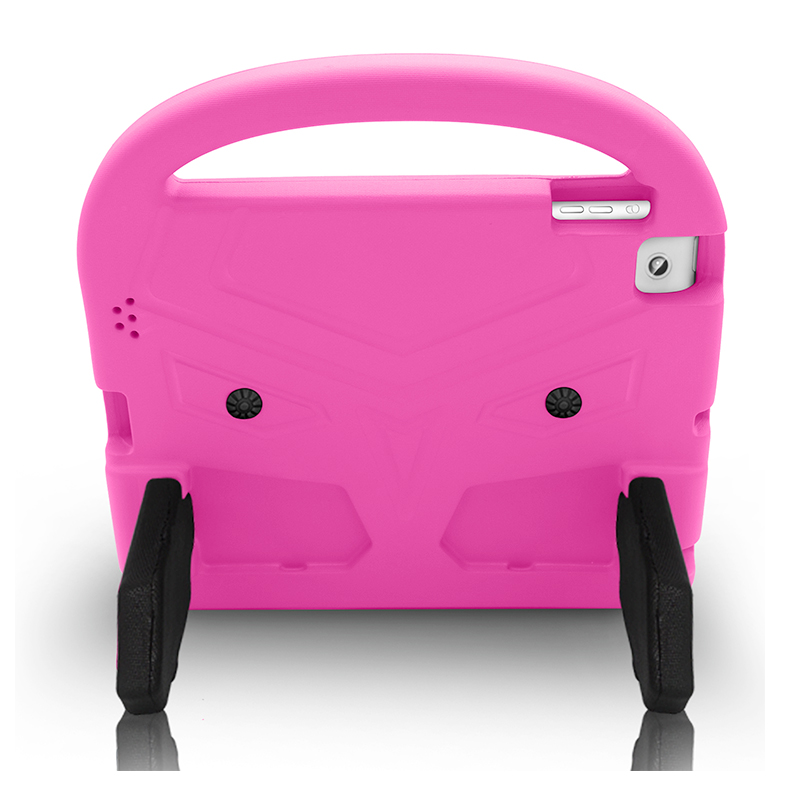 iPad 2/3/4 Shockproof EVA Foam Case Back Cover with Kickstand - Pink