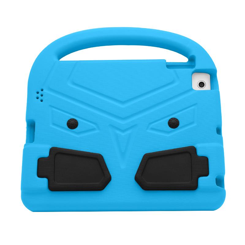 iPad 2/3/4 Shockproof EVA Foam Case Back Cover with Kickstand - Blue