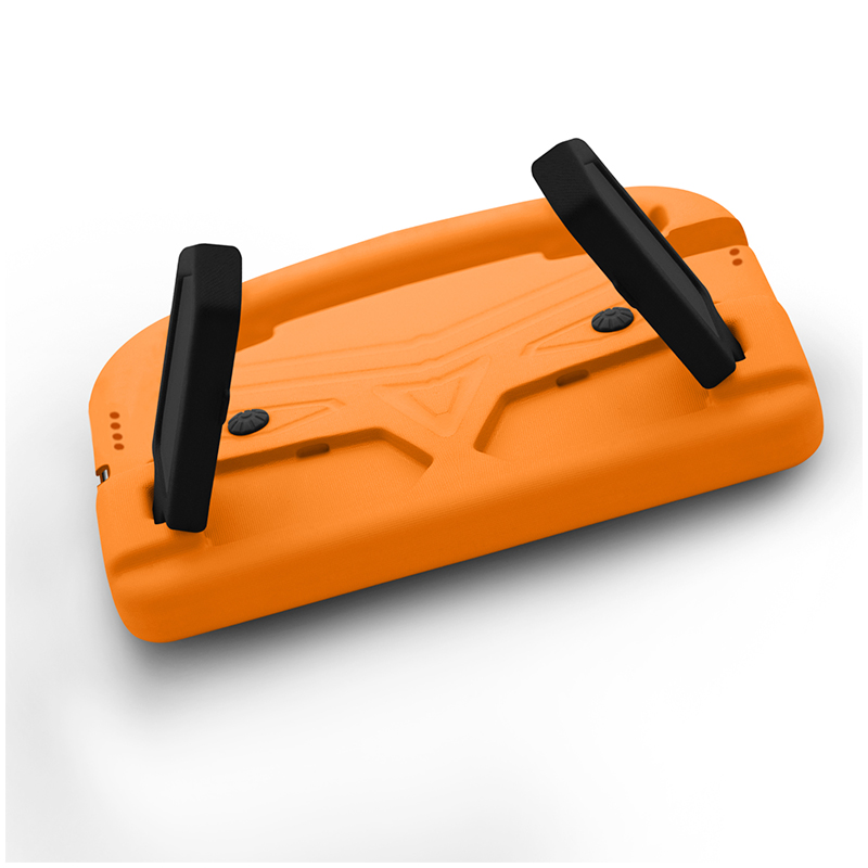 Shockproof EVA Foam Stand Case Cover with Handle for Apple iPad Pro 9.7 - Orange
