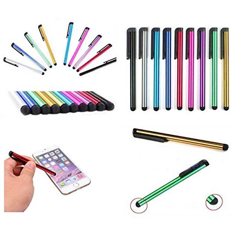 7.0 Touch Screen Stylus Pen Universal Multi-function Portable Capacitor Pen for Smart Phone/Smart Tablet - Red