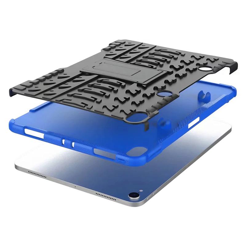 "Heavy Duty Hybrid PC + TPU Rugged Armor iPad Case Cover for iPad Pro 11"" - Blue"