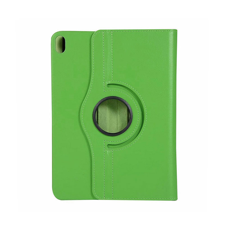"""360 Degree Rotating Smart PU Stand Cover Case with Auto Sleep/Wake Function for Apple iPad Pro 11"""" 2018 - Green"""