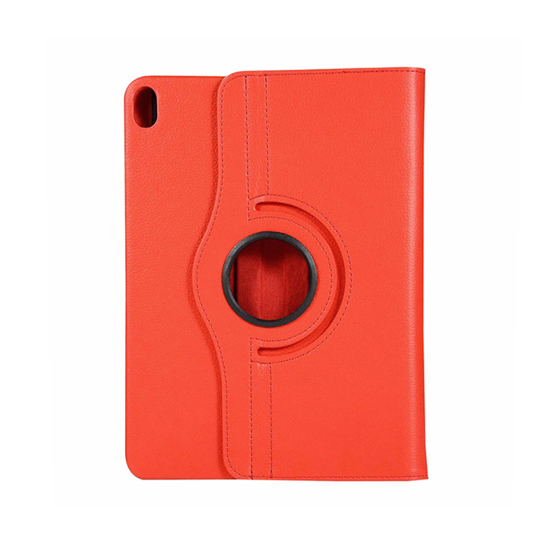 """360 Degree Rotating Smart PU Stand Cover Case with Auto Sleep/Wake Function for Apple iPad Pro 11"""" 2018 - Red"""