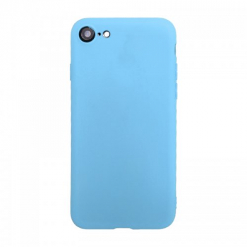 Ultra Thin Slim Soft TPU Gel Rubber Back Cover Case for iPhone 7/8 - Blue