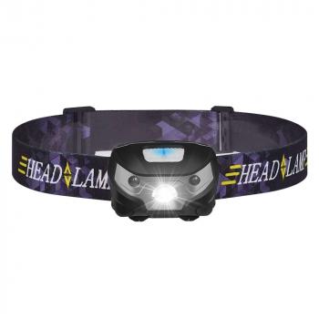 Super Bright Waterproof Head Torch/Headlight LED USB Rechargeable Headlamp