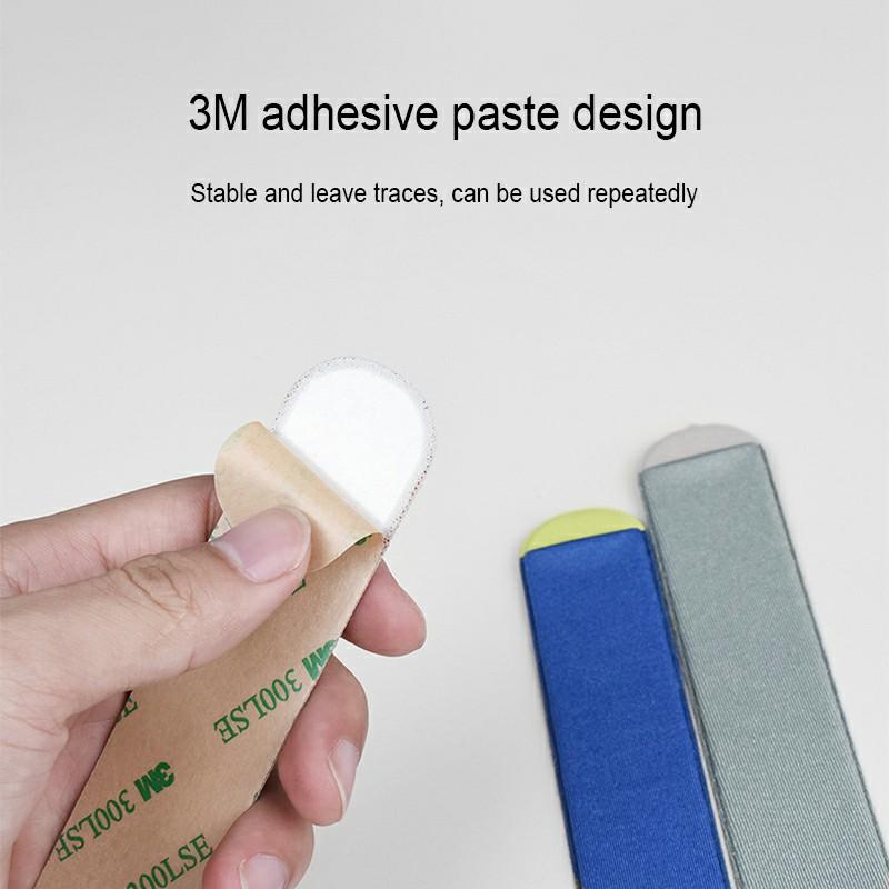 3M Glue Apple Pencil Protective Case Cover Non-slip Cloth Holder Sticker - Black