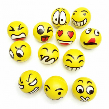 12pcs Anti Stress Reliever Face Ball Foam Sponge Autism Mood product Emoji Balls Squeeze Relief product