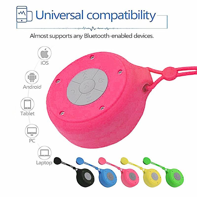 Q50 Portable Waterproof Wireless Bluetooth 4.2 Speaker USB Powered Anti-drop Bluetooth Speaker - Red