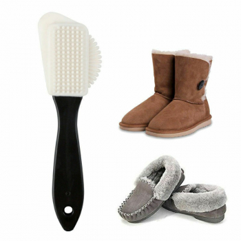 3 Planes Suede Nubuck Special Shoe Brush Acre Soft Rubber Cleaning Multifunctional Tools