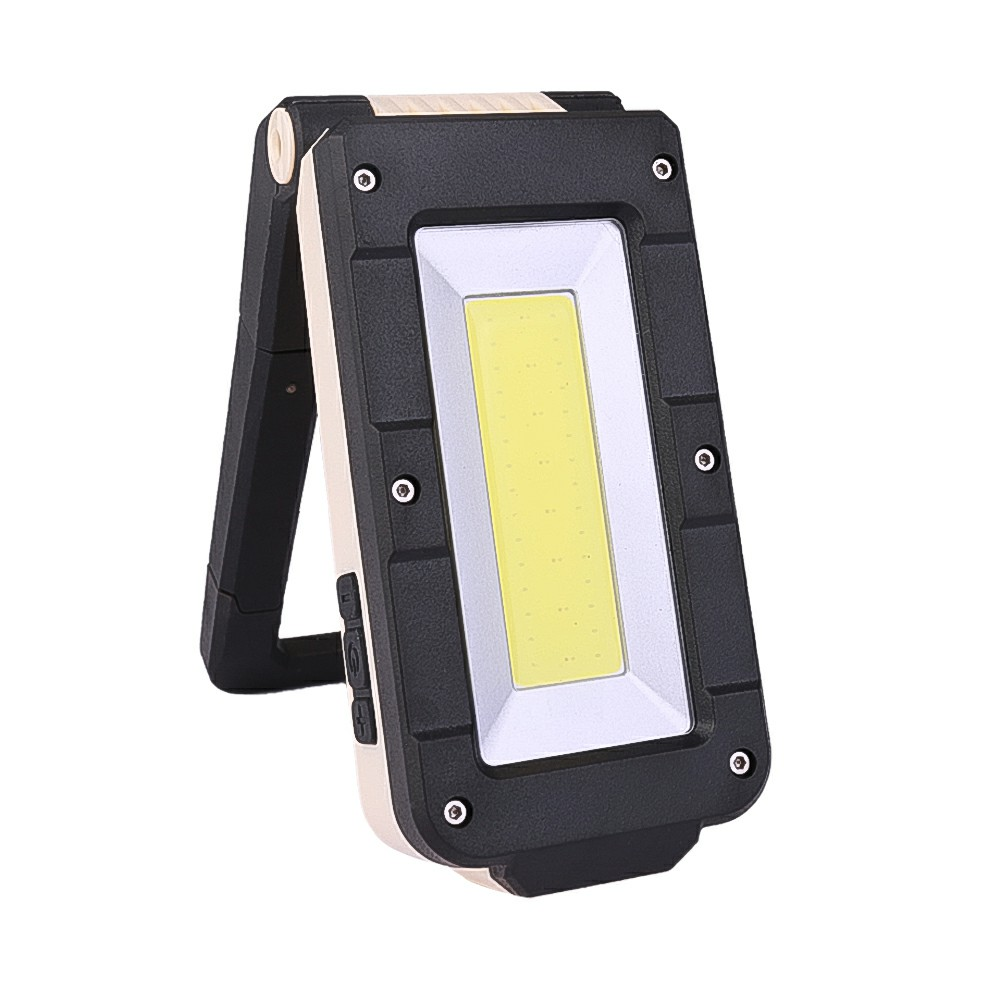 Folding USB LED Work Light COB Inspection Lamp Magnetic Torch Examining Light Car Garage