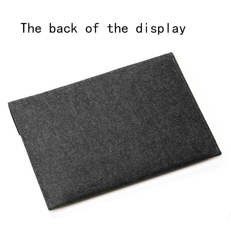 8 Inch Sleeve Felt Laptop Protective Case iPad Mini Series and iPad air 1/2 - Dark Grey