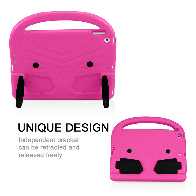 EVA Foam Protective Stand Case Cover for Apple iPad 10.2 inch 2019 - Hot Pink