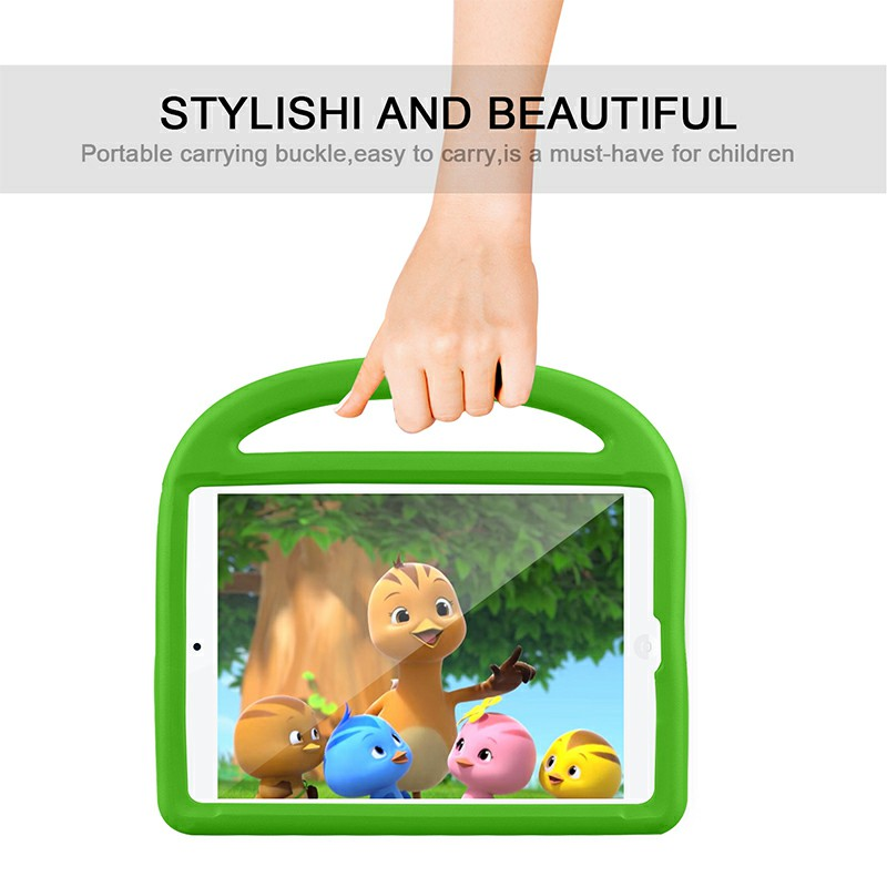 EVA Foam Protective Stand Case Cover for Apple iPad 10.2 inch 2019 - Green