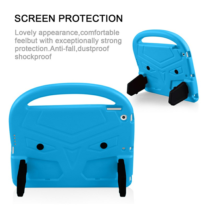 EVA Foam Protective Stand Case Cover for Apple iPad 10.2 inch 2019 - Blue