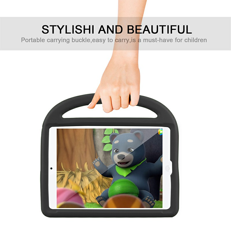 EVA Foam Protective Stand Case Cover for Apple iPad 10.2 inch 2019 - Black