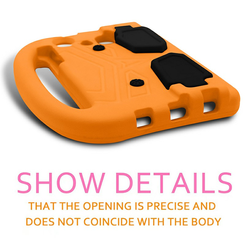 Shakeproof EVA Foam Stand Case Cover For Samsung Universal Tablet 7inch - Orange