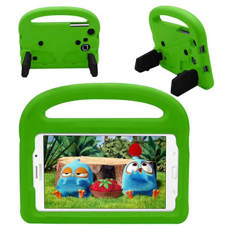 Shakeproof EVA Foam Stand Case Cover For Samsung Universal Tablet 7inch - Green