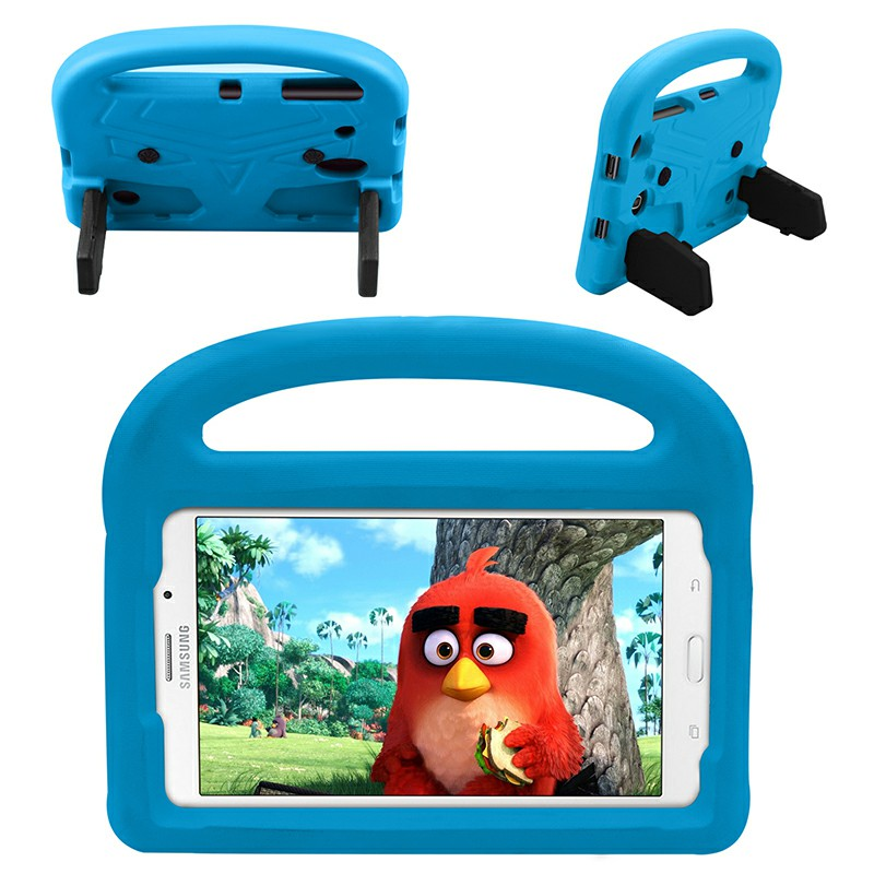 Shakeproof EVA Foam Stand Case Cover for Samsung Universal Tablet 8 inch - Blue