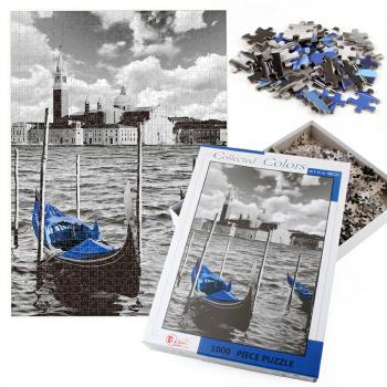 1000pcs Puzzles Intelligence Decompression Family Game Art Decor - Venice