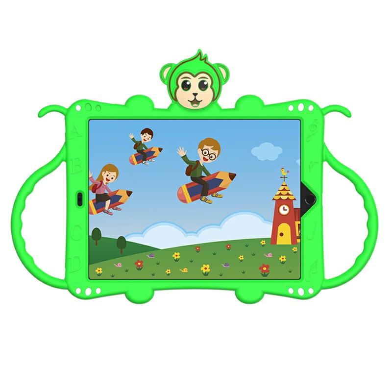 Heavy Duty Rugged PC Silicone Cartoon Case for Apple iPad air 3 10.5/10.2 - Green