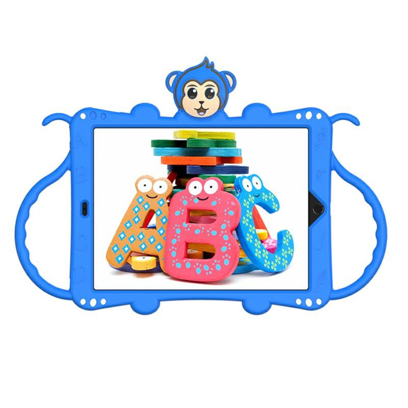 Heavy Duty Rugged PC Silicone Cartoon Case for Apple iPad air 3 10.5/10.2 - Blue
