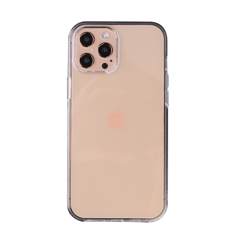 Full Body Slim and Transparent TPU Phone Case for iPhone 12 Pro Max