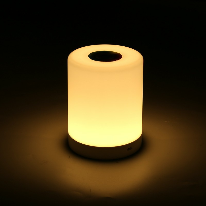 7 Color Touch Sensor Lamp Night Light LED USB Dimmable Bedside Table Desk Lights