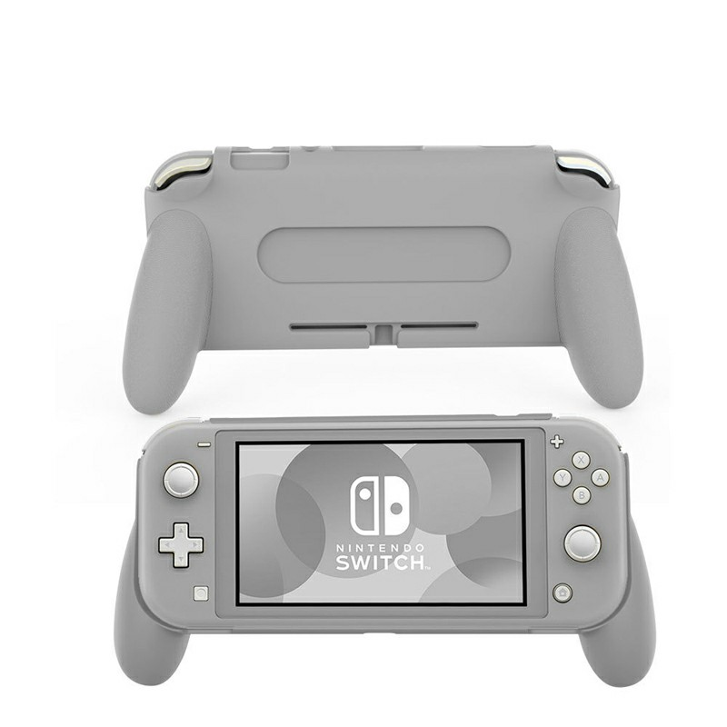 Comfortable and Ergonomic Switch Lite Hand Grip Accessories for Nintendo Switch Lite - Grey