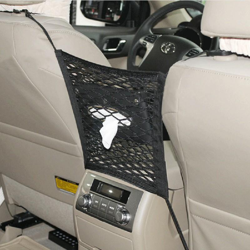 Car Seat Hanging Bag Mesh Pocket Net Storage Boot Tidy Organiser Nylon Holder